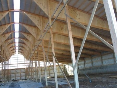 Mono Lam Ply Trusses Ideal For Partially Open Livestock